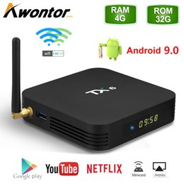 TX6 Android 9.0 TV Box With Allwinner H6 Quad core 4GB 64GB Streaming Media Player 2.4G 5G Dual Wifi on Sale