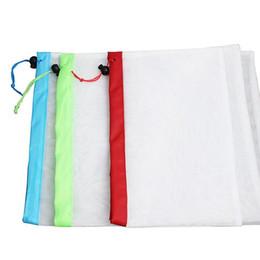 $enCountryForm.capitalKeyWord Australia - Reusable Produce Bags Mesh Vegetable Fruit Toys Storage Container Pouch Bag