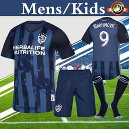 super cute b97f0 80043 La Galaxy 201718 Season Away Navy Blue MLS Kit cheap soccer