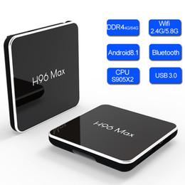 $enCountryForm.capitalKeyWord Australia - H96 Max X2 TVbox Android 8.1 DDR4 4GB RAM 32GB ROM Smart TV Box Amlogic S905X2 Quad Core Bluetooth Dual Band Wifi 4K Set Top Box BT Boxes