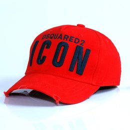 custom hat adult 2019 - good quality 2019 new style Baseball Cap d2 Letters High Quality Men Women Cap Custom Classic ICON Logo Cap Bonnet Homme
