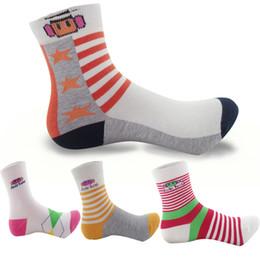 Sock Packs Australia - 30024G 5 pair  pack spring & autumn children socks cotton cartoon kids socks for boys 7-12 year one size boys girls socks