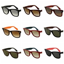 Designer Glasses Women Australia - 2018 Excellent Quality 21401 Ray Aviator Sunglasses Bans Frame Glass Lenses Brand Designer Sunglasses for Man Women