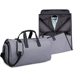 $enCountryForm.capitalKeyWord Australia - Travelling bag Large capacity folding package Multi-function fitness Kit Men's suits take bags Travel package Male and female one shoulder i