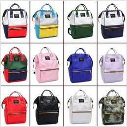 $enCountryForm.capitalKeyWord NZ - Brand Designer Canvas Women Backpack High School Students School Bag Casual Handle Laptop Backpacks Large Travel Bag Daypack