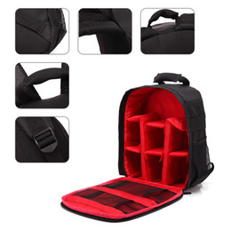 Dslr Cameras Bags Australia - Multi-functional Camera Backpack Video Digital DSLR Bag Waterproof Outdoor Camera Photo Bag Case for Nikon  for Canon DSLR free shipping new