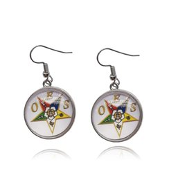 $enCountryForm.capitalKeyWord Australia - stud earring Order of the Eastern OES round dangle Earrings earrings wedding star stud earring