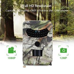Détecteurs automatiques larges de détection de la caméra 1080P 12Mp Pr-100 de camping extérieur de champ avec la distance de 15M Pir en Solde