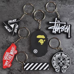 $enCountryForm.capitalKeyWord Australia - Sup Keychain Cell Phone Straps Tide Brand Creative Personality Car Charms Wollet Bags Key Chain Hanging Woven Hand Strap