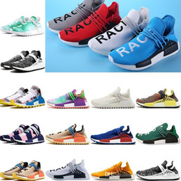 $enCountryForm.capitalKeyWord Australia - Human Race Pharrell Williams Mens Womens Running Shoes Prominet Quality Light Wearing Feeling Beautiful Colors Solar Pack Inspiration Pack