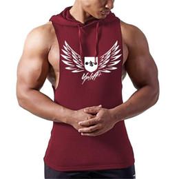 $enCountryForm.capitalKeyWord Australia - 2018 New Animal Fitness Stringer Hoodies Muscle Shirt Bodybuilding Clothing Gyms Tank Top Mens Sporting Sleeveless T shirts