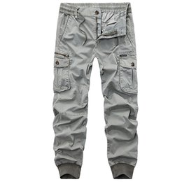 $enCountryForm.capitalKeyWord UK - 2018 New Autumn Camouflage Tactical Mens Cargo Men Joggers Military Casual Cotton Pants Army Trousers Dropshipping Axp103 C19041303