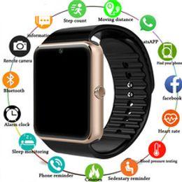 Bluetooth Smart Watch Sim Australia - Smart Watch GT08 Clock Sync Notifier Support Sim TF Card Bluetooth Connectivity Android Phone Smartwatch Alloy Smartwatch