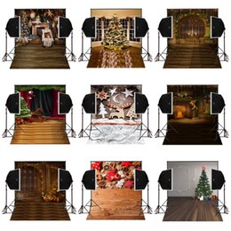 Photography Christmas Digital Backdrops Australia - 150x220cm shine christmas tree decor photography backdrops for photos camera fotografica digital cloth props studio photo background vinyl