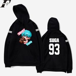 8e7b3e6f48c Discount cute plus size pullover hoodies - BTS Bangtan Boys Kpop cartoon  cute Hoodie pullover men