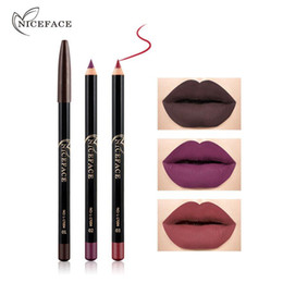 Lipstick pen makeup online shopping - 12 Colors Brand Lip Pencils Matte Lipliner Pencil Waterproof Makeup Lips Matte Lipstick Lip Liner Pen Smooth Nude DHL