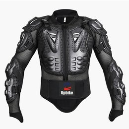 full body protector motocross UK - upbike Motorcycle Full body armor Protection jackets Motocross racing clothing suit Moto Riding protectors turtle Jackets S-4XL