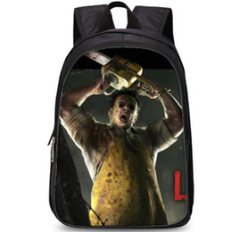 $enCountryForm.capitalKeyWord Australia - The Cannibal backpack Dead by daylight style day pack Leatherface school bag Game packsack Photo rucksack Sport schoolbag Outdoor daypack