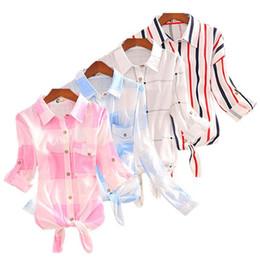 3689d1890 000% Cotton Women Short & 2 5 & Long Sleeve Blouse Nice Summer Autumn Shirts  Plaid Tunic Female Harajuku Lady Fashion Tops