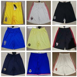 Crystals brazil online shopping - Brazil club Sao Paulo Soccer shorts Mexico River Plate Chivas UANM TIGRES football shorts Crystal America Flamengo football Pants