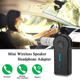 Office Speakers Australia - Car Bluetooth AUX Audio Smart Wireless Mini Speaker Headphone Adapter Multi-function Music Office Receiver For Laptop PSP