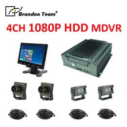 $enCountryForm.capitalKeyWord Australia - 4 channel Mobile DVR CCTV Recorder hdd mdvr system with 4pcs 2.0MP AHD car camera