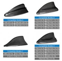 $enCountryForm.capitalKeyWord Australia - Car modification for BMW 1 Series 3 Series 5 Series E90F10F15F30 True Carbon Fiber Antenna GT Shark Fin