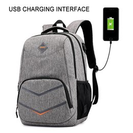 Wholesale Fashion Man Laptop Backpack Usb Charging Computer Backpacks Casual Style Bags Large Male Business Travel Bag Backpack