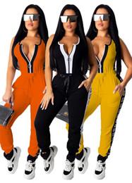 $enCountryForm.capitalKeyWord Australia - Womens sportswear jacket tracksuit hoodie two piece set jogging sport suit sweatshirt tights sports suit women tops pants suit klw1902