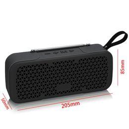 Speaker boxeS deSign online shopping - New Fm Radio Wireless Best Bluetooth Speaker Waterproof Portable Outdoor Mini Column Box Loudspeaker Speaker Design