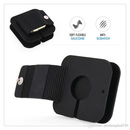 $enCountryForm.capitalKeyWord Australia - Portable Apple Watch Charging Wallet Soft Silicone Charge Holder Stand Charging Dock Station Anti-Scratch Storage Carrying Case Hot Sale