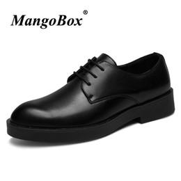 $enCountryForm.capitalKeyWord Australia - Man Dress Shoes Black Pointed Toe Man Business Shoes Spring Autumn Men Social Rubber Sole Anti-slip Office Footwear