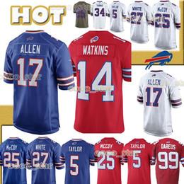 $enCountryForm.capitalKeyWord Australia - Buffalo jerseys Bills 17 Josh Allen 25 LeSean McCoy 34 Thurman Thomas 12 Jim Kelly hot sale Football Jerseys