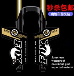 $enCountryForm.capitalKeyWord Australia - 2012 FOX32 FLOATF100 Front Fork Sticker FOX32 Fork MTB Sticker 18 Color Optional
