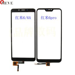 $enCountryForm.capitalKeyWord UK - 50PCS For Xiaomi Mi A2 Lite Touch Screen Sensor Glass Panel For Redmi 6 Pro 6A Touchscreen Panel Front Outer Glass Replace Parts