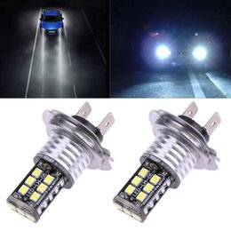 2x H7 Auto Leds For Cars 15SMD CANBUS Error Free 3535 LED Car White Fog light on Sale