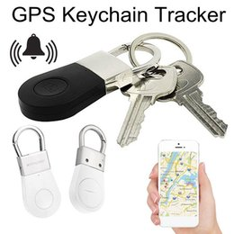 $enCountryForm.capitalKeyWord Australia - Wireless GPS Keychain Tracker R2 Bluetooth Locator Anti-Lost Alarm Selfie Shutter Smart Key Finder Child Pet Protection Device