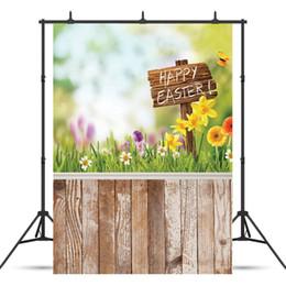 Art Canvas Prints Australia - SHENGYONGBAO Art Cloth Custom Photography Backdrops Prop Easter day Theme Photography Background 10955