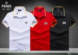 Cheap Polo Tops Australia - CHEAP cotton lapel polo shirt cool men's top designerS print T-shirt high quality breathable men's T-shirt freight free