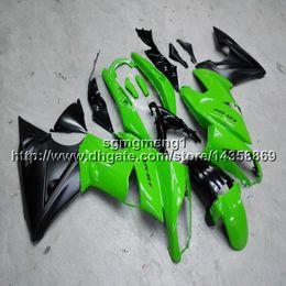Gifts Green Plastic Australia - Screws+Gifts green motorcycle cowl for Kawasaki ER6F 09 10 11 ER 6F 2009 2010 2011 motor cover ABS Plastic Fairing