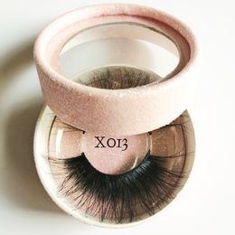 b37b2f59a40 3D Mink Hair False Eyelashes Criss-cross Wispy Cross Fluffy Lashes Extension  Handmade Eye Makeup Tools 77