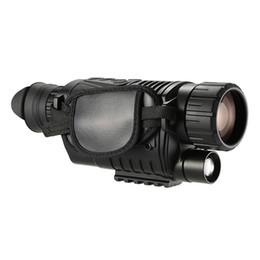 Monocular infrared online shopping - WG540 x40 Infrared Night Vision Scope NV540 HD Digital Vision Optics M Range Powerful Monocular Rifle Scope For Hunting