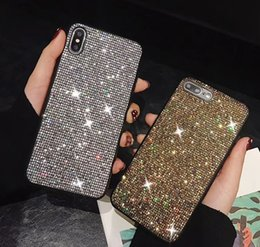 Wholesale Luxury Bling Diamond Phone Case Shiny Crystal Cover for iphone S plus plus X XR XS Max