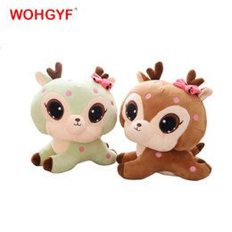 giraffe toys Australia - 1pc 30cm Cute Giraffe Plush Toys Soft Sika Deer Pillow Dolls Kawaii Stuffed Plush Animals Toy Kids Baby Gifts CJ191212