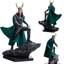 marvel avengers toys Australia - 2019 Marvel Comics Loki Ragnarokr action figure 25cm Avengers Loki limited edition Action Figures toy Anime figure Toys For Kids gift