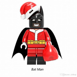 Jack Gifts Australia - Promotion New Marvel DC Comics Super Heroes Merry Christmas Boy Joker Wiley Jango Fett Jack Skellington Building Blocks Bricks Toy Xmas Gift