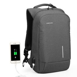 $enCountryForm.capitalKeyWord UK - wholesale Backpack Men 15.6 Inch Laptop Anti Theft Bagpack USB Charging Mini Back Pack for Teenager Boys Big School Business