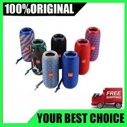 $enCountryForm.capitalKeyWord Australia - Wholesale TG116 upgrade verion TG117 Bluetooth Portable Speaker Double Horn Mini Outdoor Portable Waterproof Subwoofers Wireless Speaker DHL