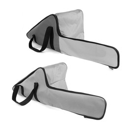 $enCountryForm.capitalKeyWord Australia - 92cm Chainsaw Carry Case Bag Bar Chain Cover for Stihl Husqvarna Saw Chain - Gray&White