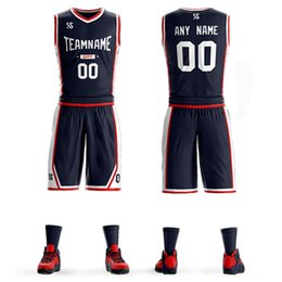 Wholesale new basketball jerseys breathable quick drying custom logo design professional men s children s basketball uniforms with quick dr